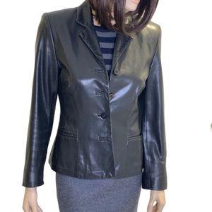 Danier Blazer Style Leather Jacket Size XS